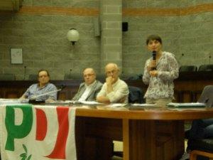 Debora Serracchiani a Cordenons