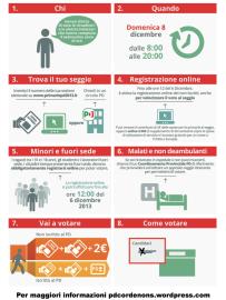 Infografica Primarie Pd 2013